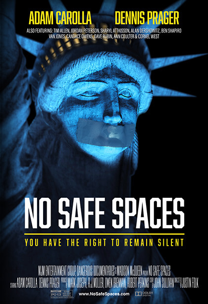 Official No Safe Spaces movie poster image